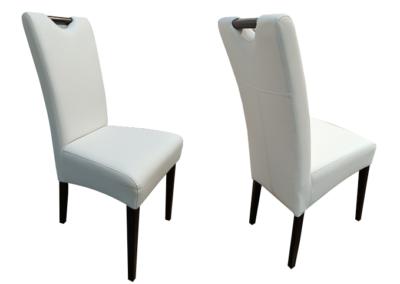 Krzesło tapicerowane z rączką B