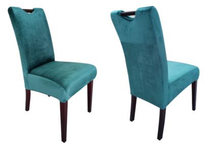 Krzesło tapicerowane z rączką M