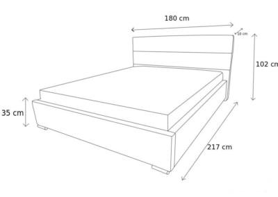 łóżko c
